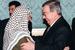 Встреча Примакова с лидером Палестины Ясиром Арафатом (на фото слева) в апреле 1999 г.