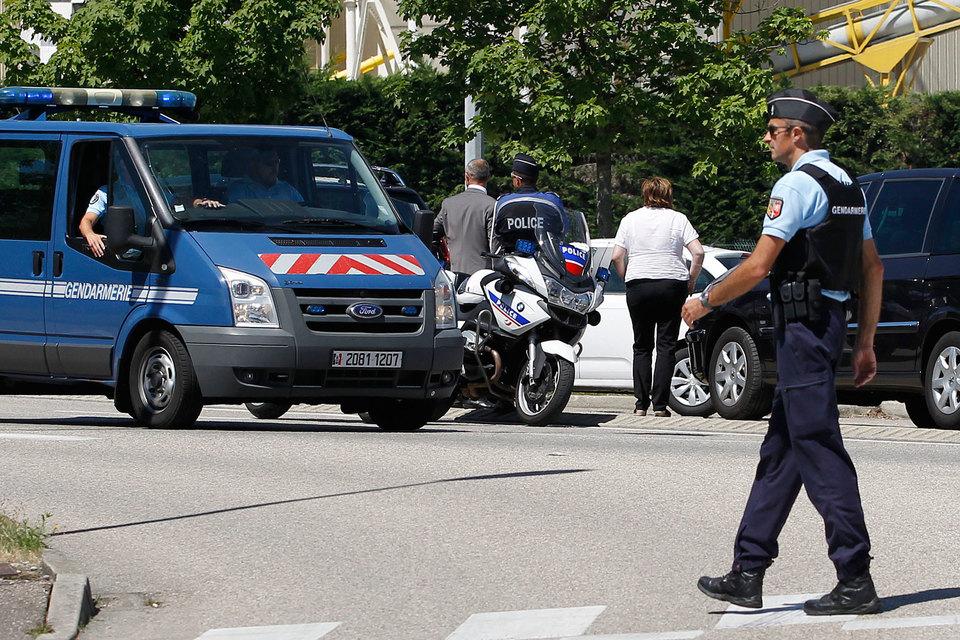 Во Франции совершено нападение на химический завод Air Products