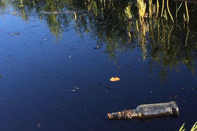 Разлив нефтесодержащей жидкости близ Нефтеюганска