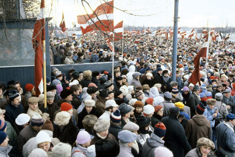 Генпрокуратура проверит законность признания независимости республик Прибалтики Госсоветом СССР в 1991 году