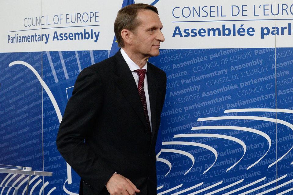 Россия не откажется от работы с ОБСЕ после того, как Финляндия не разрешила въезд Сергею Нарышкину