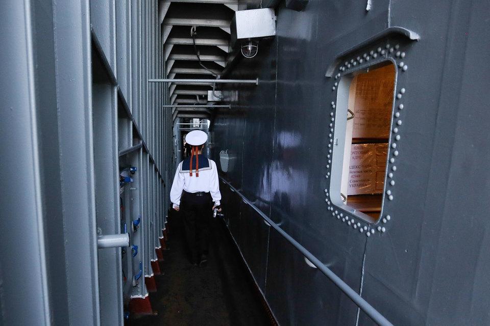 Черноморский флот отменит заказ на три российских фрегата из-за трудностей с замещением прекратившихся поставок двигателей с Украины