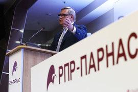 Лидер Партии народной свободы «Парнас» Михаил Касьянов