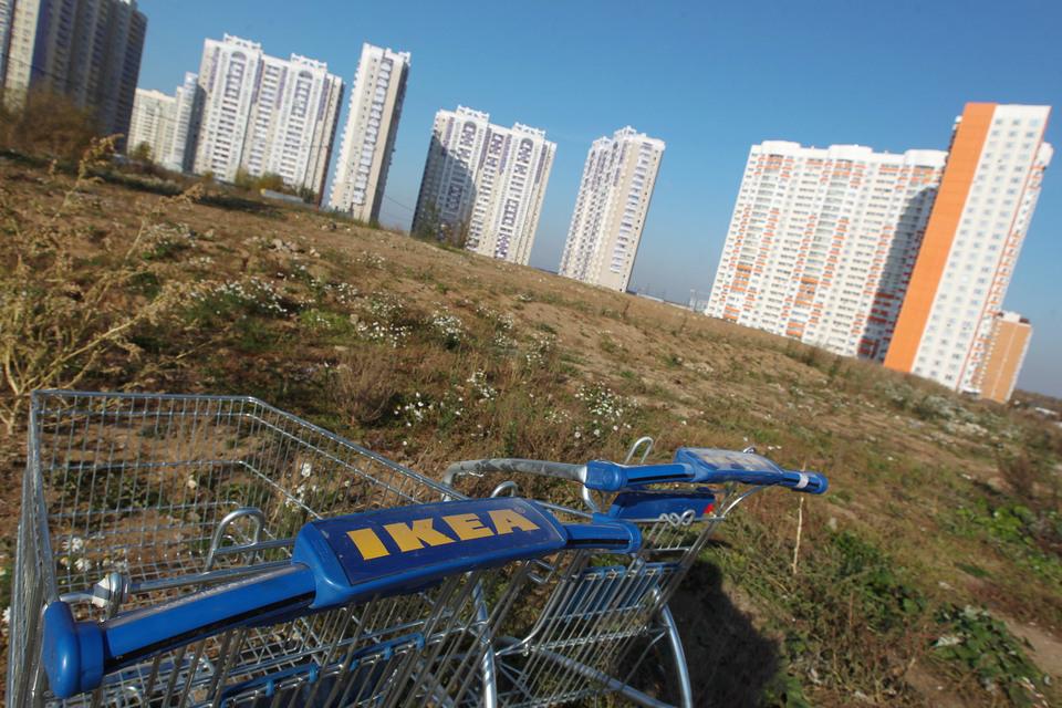 В Москве и области ИКЕА рассматривает много площадок, «которые потенциально могут подойти для будущего строительства», сказал представитель компании