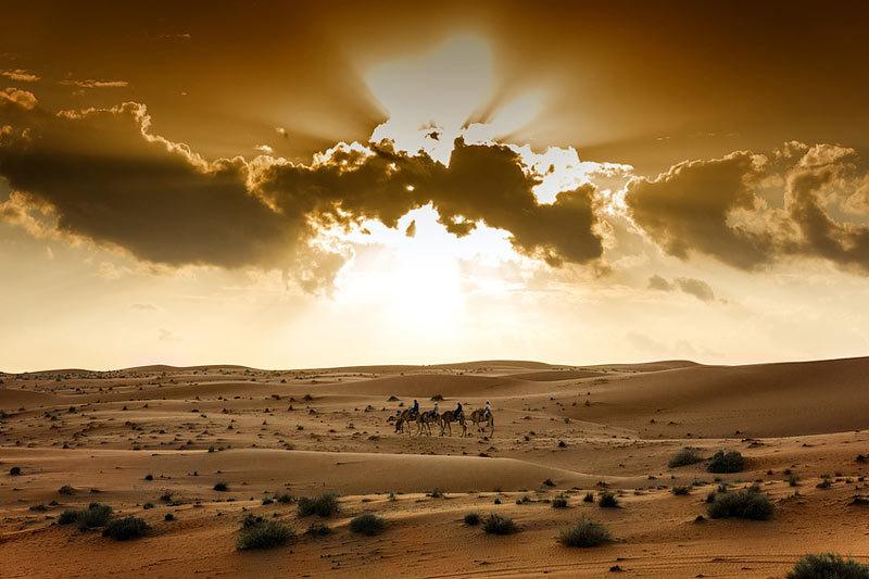 Для добычи в пустыне тяжелых сортов нефти Оману уже много лет требуется использовать особые технологии