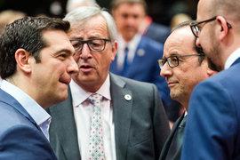 На саммите еврозоны достигнуто соглашение по греческому долгу