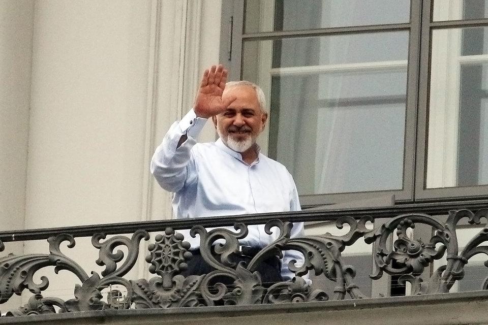 Министр иностранных дел Ирана Мохаммад Джавад Зариф в Вене