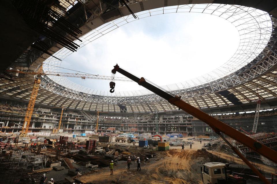 «Лужники» отменили конкурс на 2,19 млрд рублей на строительство инфраструктуры к ЧМ-2018