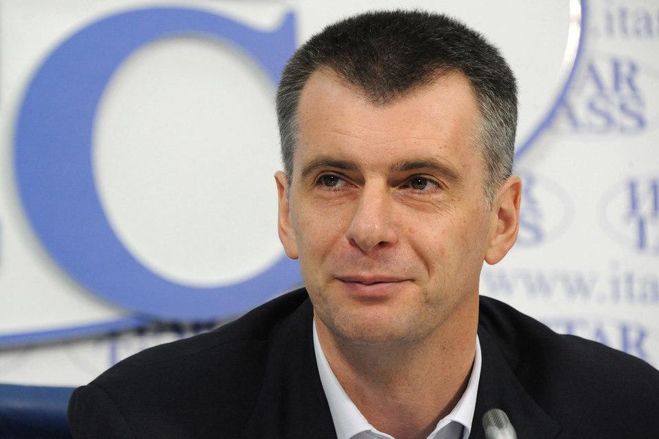 Российский бизнесмен Михаил Прохоров намерен выкупить долю Брюса Ратнера в баскетбольном клубе Brooklyn Nets