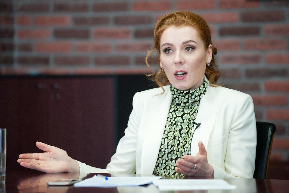 Президент Европейской медиагруппы Екатерина Тихомирова