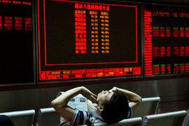 Падение на китайском рынке акции приостановилось благодаря организованной властями финансовой поддержке на сотни миллиардов долларов