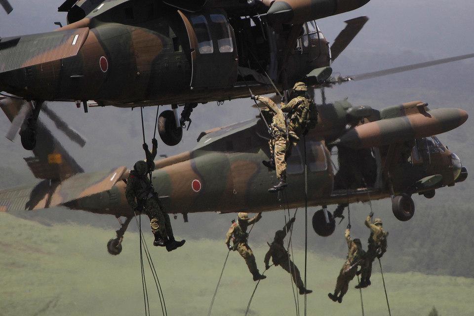 Японские военные смогут воевать