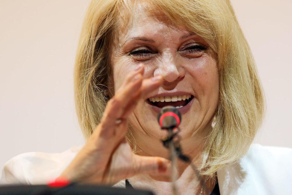Уполномоченный по правам человека при президенте Элла Памфилова (на фото) предложит лишить фонд Гайдар президентского гранта