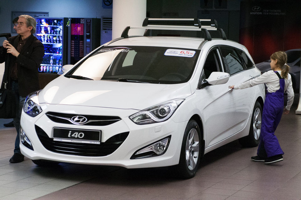Семья Кулаковых пыталась ездить на Hyundaii40 два месяца