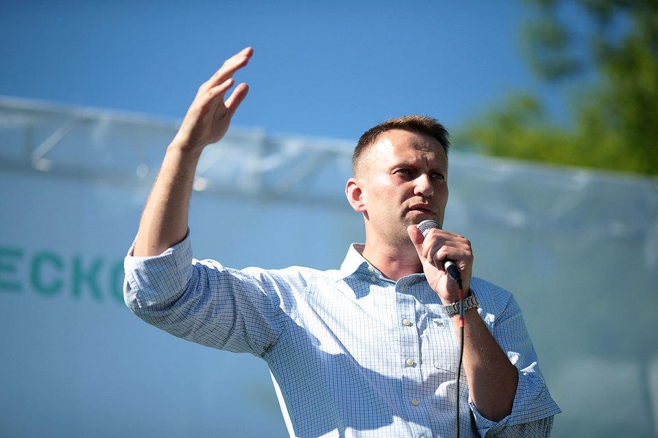 Алексей Навальный лично поддерживал единомышленников в Новосибирске