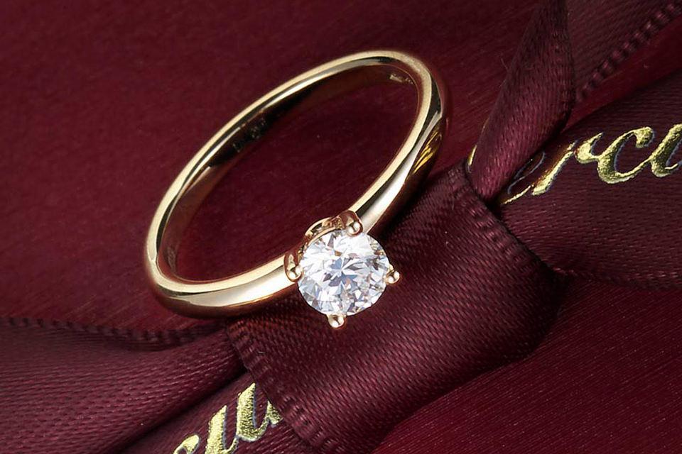 Коллекция украшений Mercury пополнилась украшениями из розового и белого золота с бриллиантами, сапфирами или рубинами