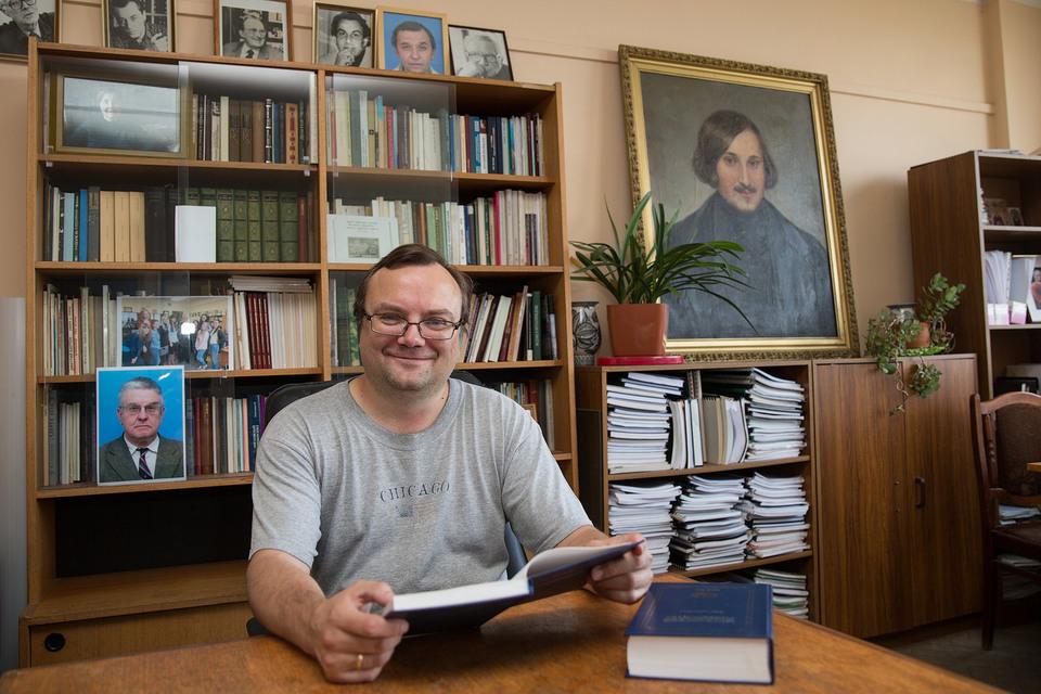 Профессор МГУ Михаил Макеев