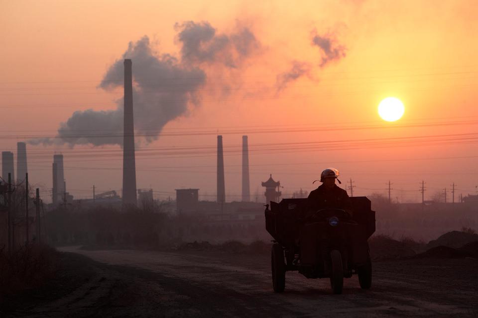 Центр китайской угольной промышленности – город Линьфэнь считается самым экологически грязным городом мира