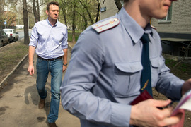 Соратникам Алексея Навального все чаще приходится общаться с правоохранителями