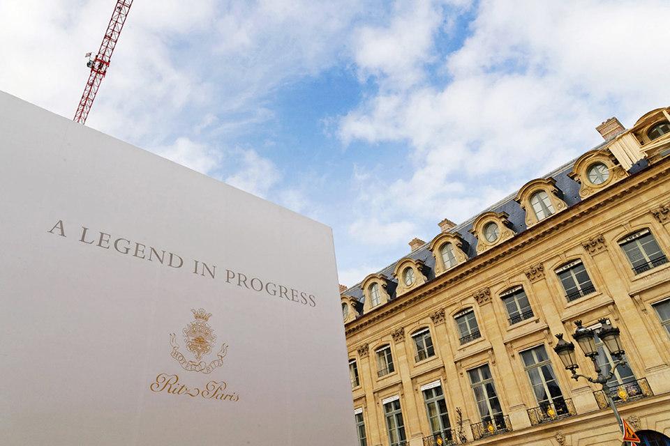 Реконструкция знаменитого Ritz Paris стоила свыше 140 млн евро и заняла больше трех лет