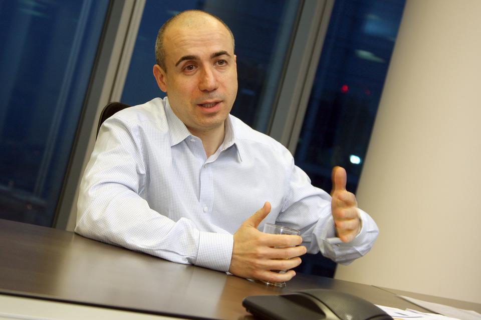 Российский бизнесмен Юрий Мильнер