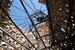 В этом году «Архстояние» не получило никакой материальной поддержки, фестиваль прошел на скромные средства его организаторов, уговоривших жителей деревни не противиться нашествию бодрой молодой публики, готовой ночевать в палатках. На фото:  новое произведение Николая Полисского «Сельпо»
