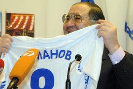 Алишер Усманов оказал финансовую поддержку Российскому футбольному союзу