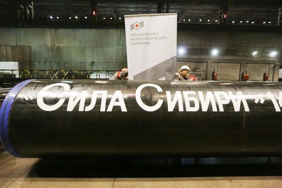 Строительство «Силы Сибири» началось 1 сентября 2014 г. Тогда нефть, к цене которой привязана и стоимость газа в китайском контракте, стоила $103 за баррель