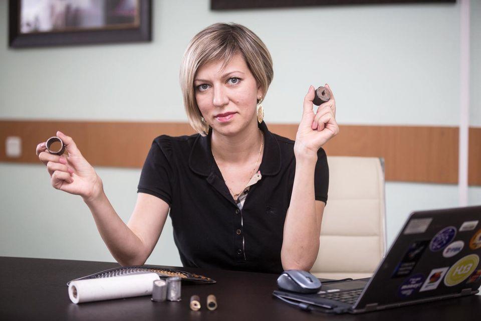 Елена Левина начинала карьеру с должности главного бухгалтера в ЧОПе
