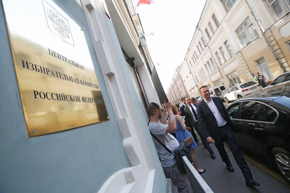 """Алексей Навальный перед заседанием посоветовал Центризбиркому не нащупывать """"опытным путем"""" точку кипения общества, закрывая оппозиции путь к выборам"""