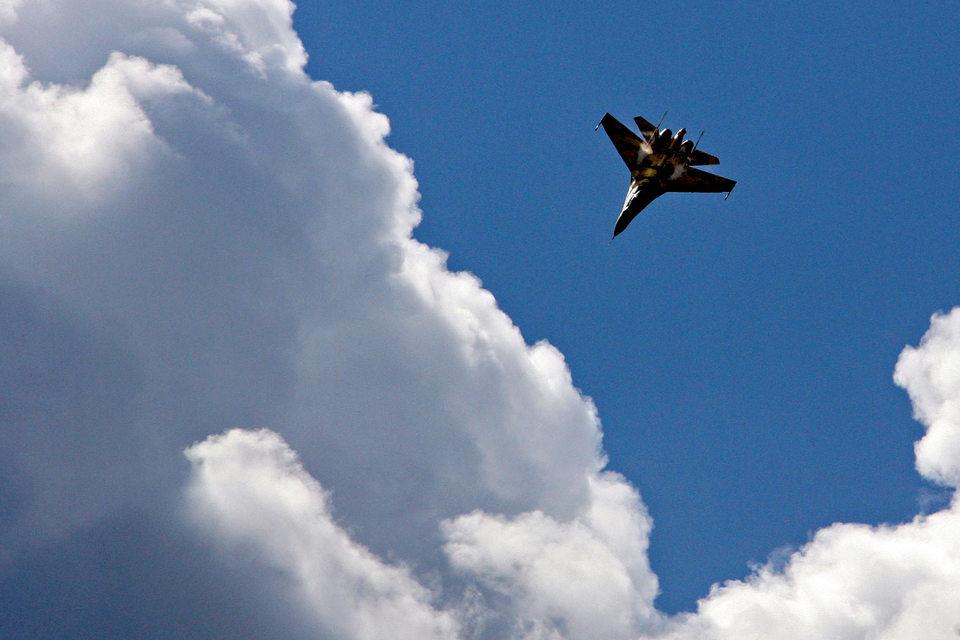 Истребитель Су-35 был разработан по инициативе компании «Сухой»