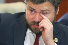 Константин Малофеев официально объявил, что выкупил «Союз-телефонстрой», осенью 2013 г.