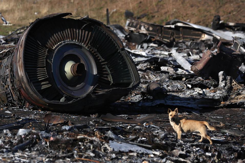 Нидерландские следователи изучают предполагаемые фрагменты ракеты от «Бука»