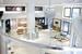 Оформление общего пространства и дизайн корнеров разработаны специалистами Swatch Group
