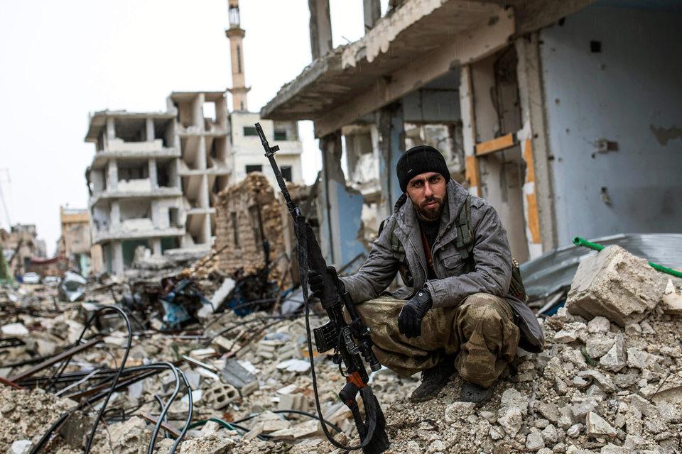 В  Сирии с 2011 г. не прекращается гражданская война