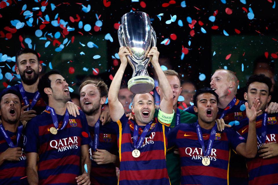 FC Barcelona стала пятикратным обладателем Суперкубка UEFA