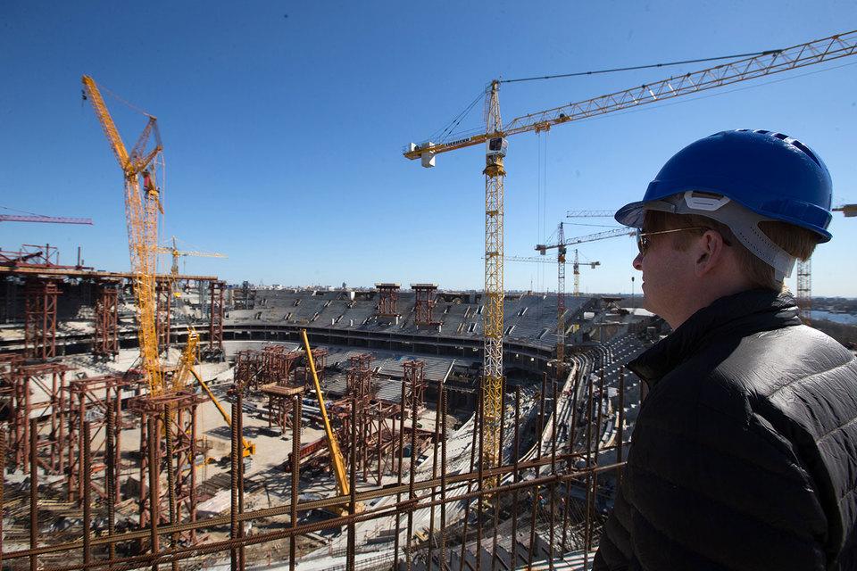Регионы уклоняются от финансирования строительства стадионов ЧМ-2018