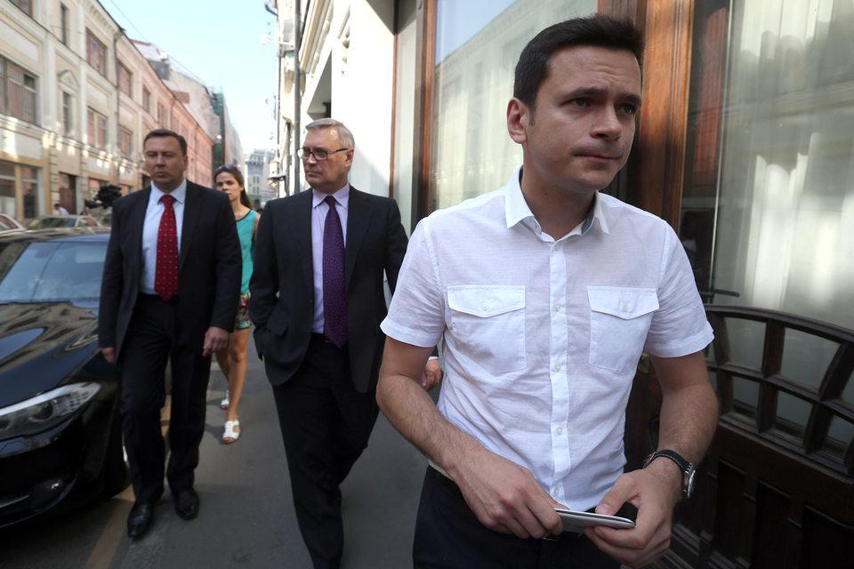 Илья Яшин будет баллотироваться в Костромскую областную думу