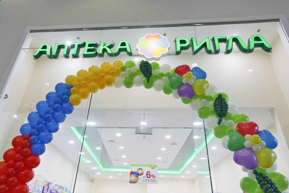 Аптеки «Ригла» занимают 3,3% рынка, по данным DSM Group