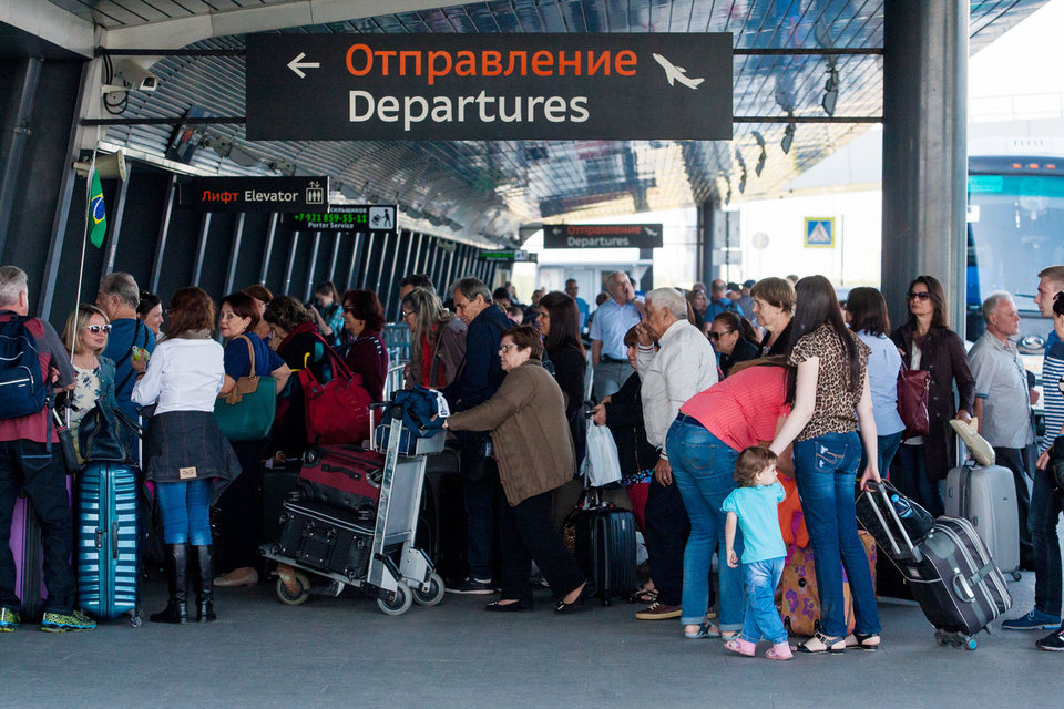 Петербуржцы чаще выбирают маршруты внутри России