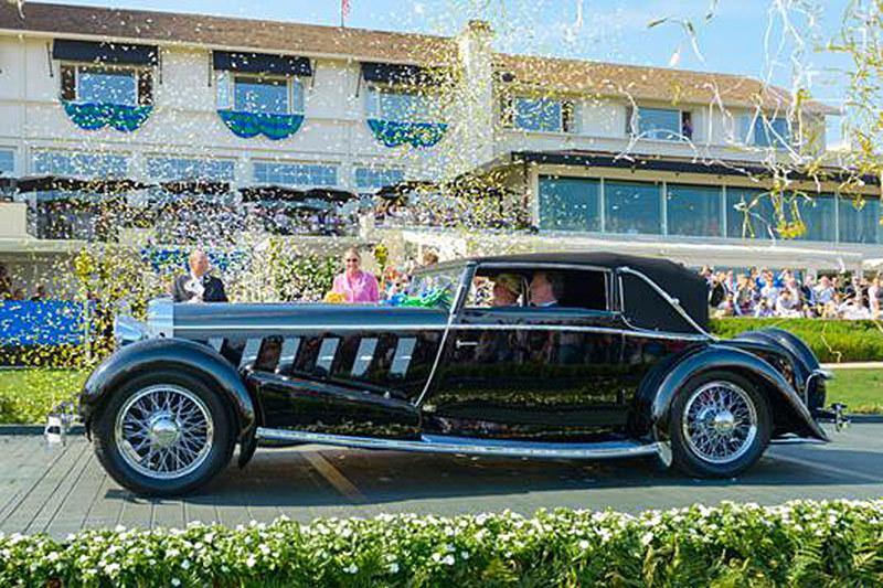 Лучшим автомобилем Pebble Beach Concours d'Elegance 2015 года стал Isotta Fraschini Tipo 8A 1924 года