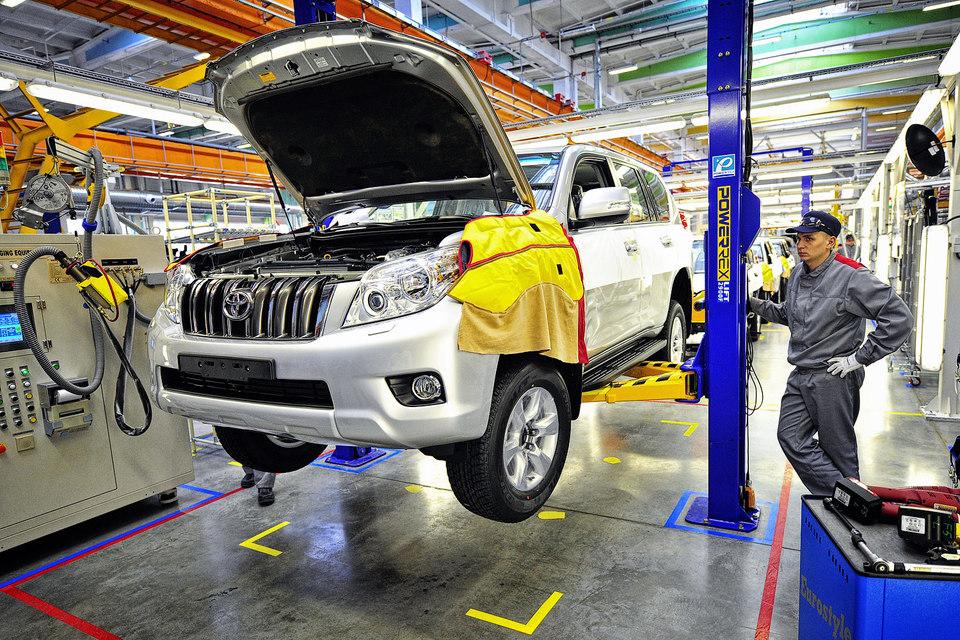 Сборка внедорожника Toyota Land Cruiser Prado на заводе «Соллерс-Буссан» во Владивостоке остановлена 26 июня