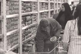 Реакция населения соответствующая: сокращение потребления, производство запасов