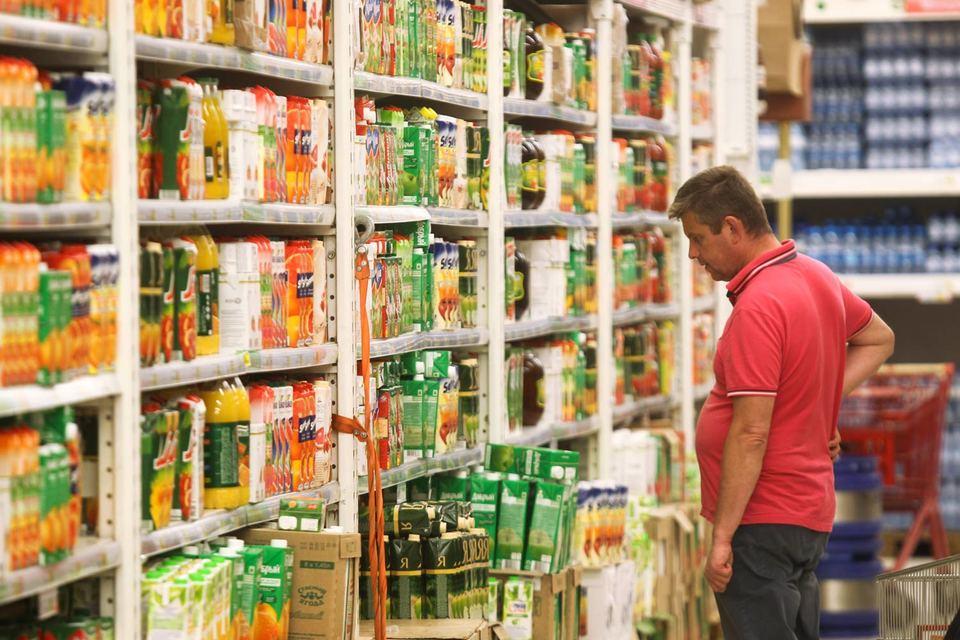 Сильнее всего упал спрос на фруктовые соки и газированные напитки – на 7 и 2% соответственно