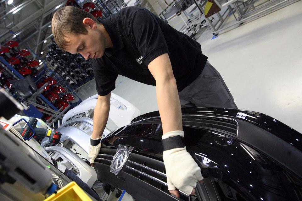 По итогам 2014 г. локализация выпускаемых Volkswagen машин в России составила 45%, в 2015 г. она должна вырасти до 50%