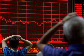 С 12 июня, когда ключевые китайские фондовые индексы достигли пика, рынок потерял 40% капитализации