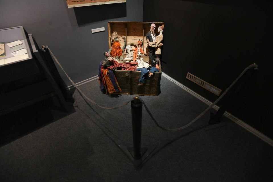 На выставке про Буратино можно найти самые странные вещи