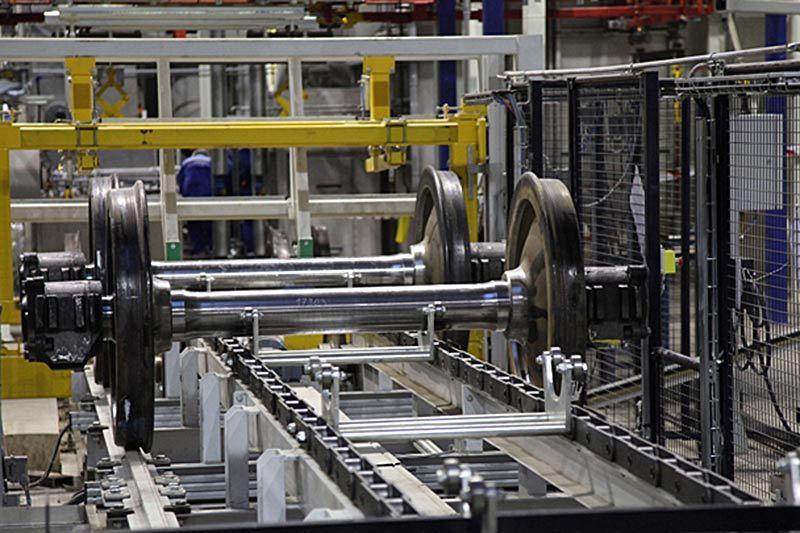 Мощность литейного производства ОВК – 30 000 вагонокомплектов в год