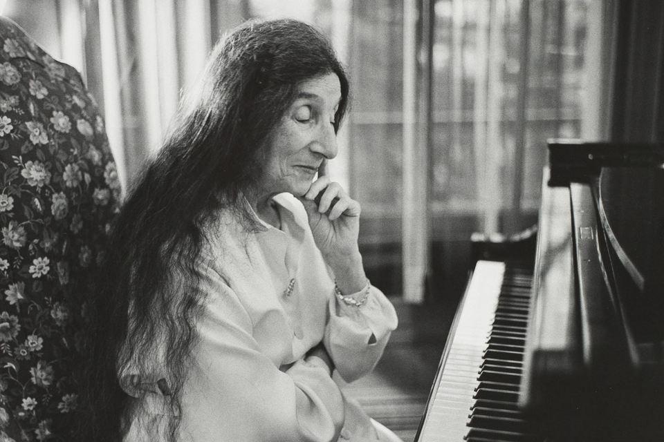 Клавесинистка Ванда Ландовска, 1957