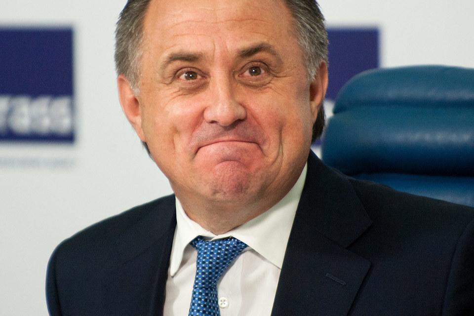 В предвыборной речи Мутко отметил, что РФС находится на грани банкротства